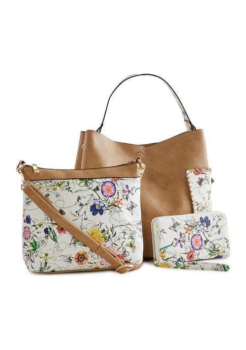 Kim Rogers® Floral Bag Set