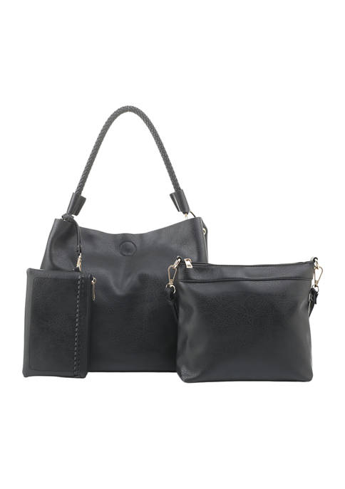 Kim Rogers® 3-Piece Hobo Bag Set