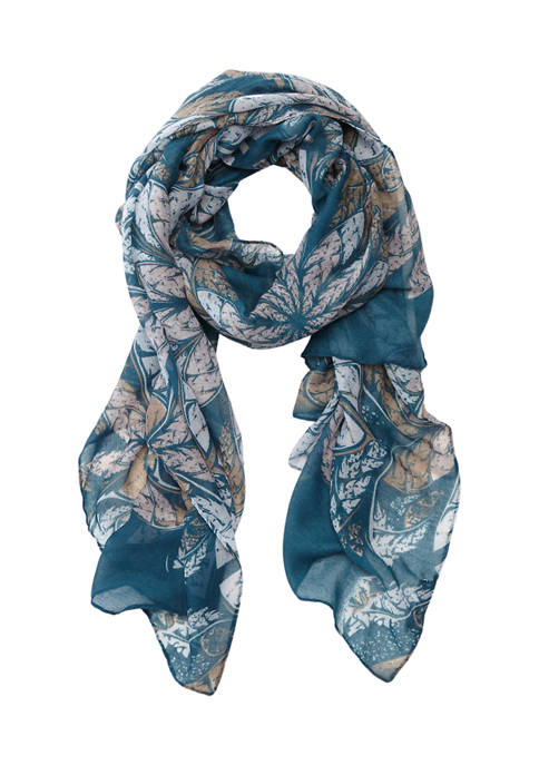 New Directions® Boho Floral Scarf