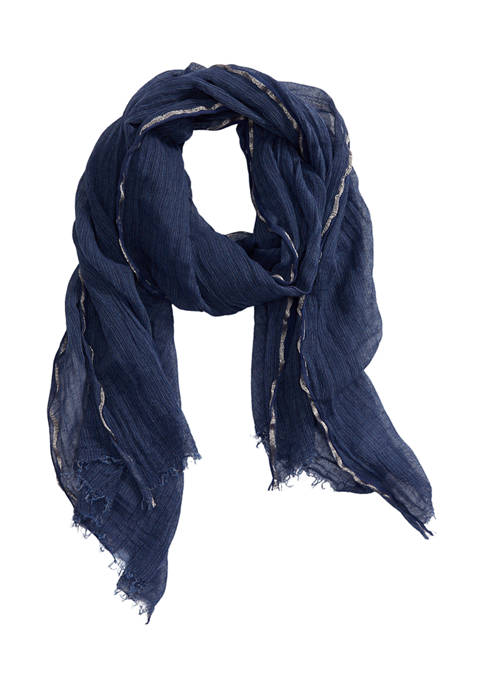 New Directions® Mineral Wash Stripe Scarf