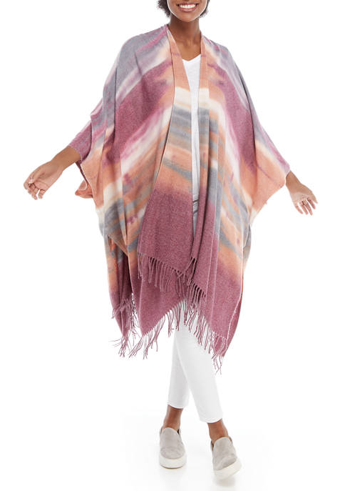New Directions® Tie Dye Ruana