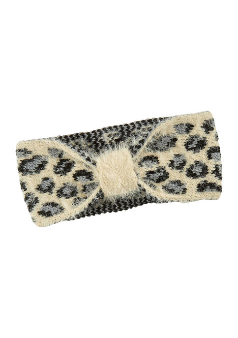 Crown & Ivy™ Animal Print Headband