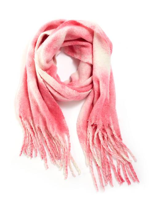 Crown & Ivy™ Tie Dye Boucle Scarf