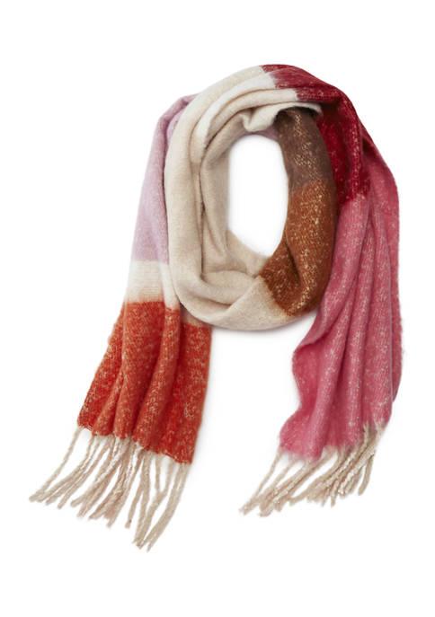 Crown & Ivy™ Color Block Stripe Blanket Scarf