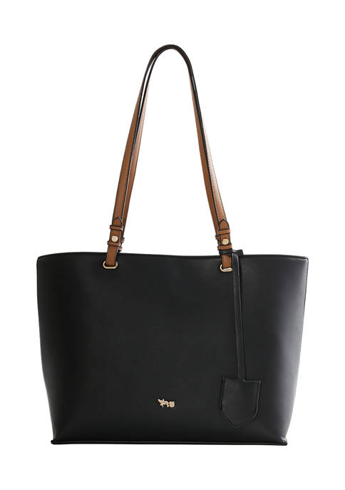 Mathew + Julian Triple Entry Tote with Hanging