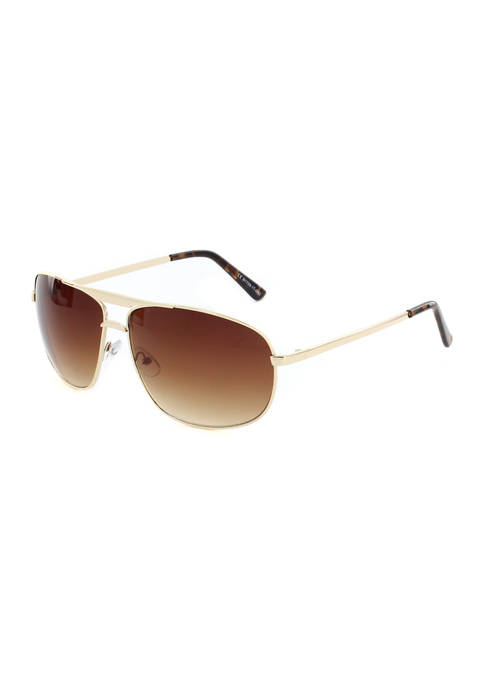 Ocean & Coast® Metal Aviator Sunglasses