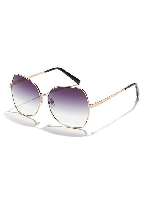 KENDALL + KYLIE Hazel Angular Butterfly Sunglasses