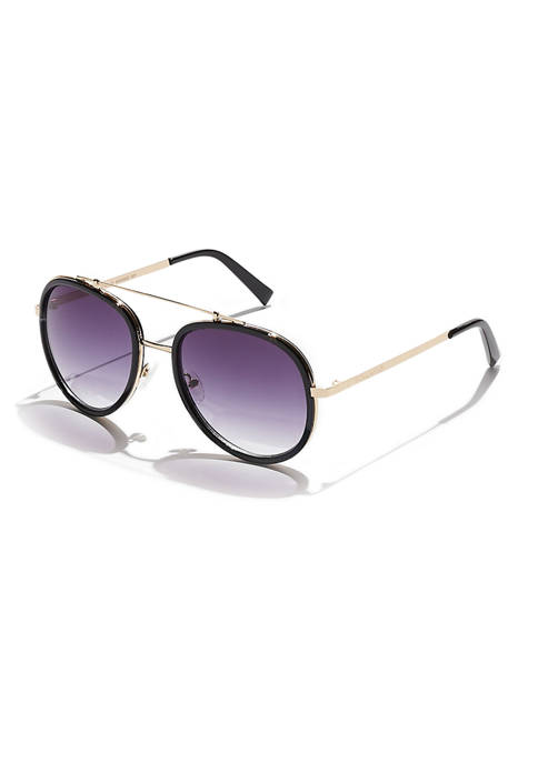 KENDALL + KYLIE Lana Inlay Aviator Sunglasses