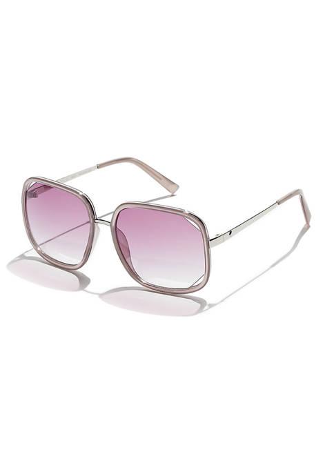 KENDALL + KYLIE Kat Cutout Square Sunglasses