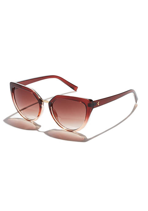 KENDALL + KYLIE Lynn Angular Cat Eye Sunglasses