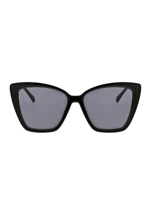 KENDALL + KYLIE Charlotte Beveled Butterfly Sunglasses with