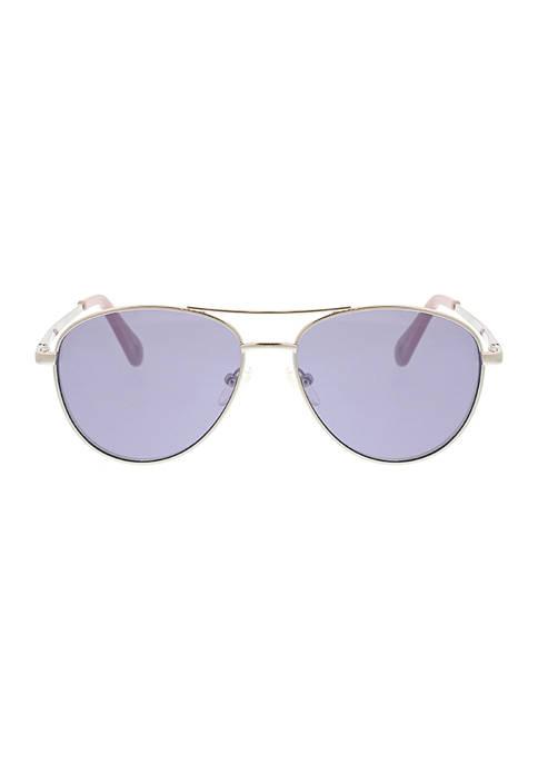 BCBG Classic Aviator Sunglasses