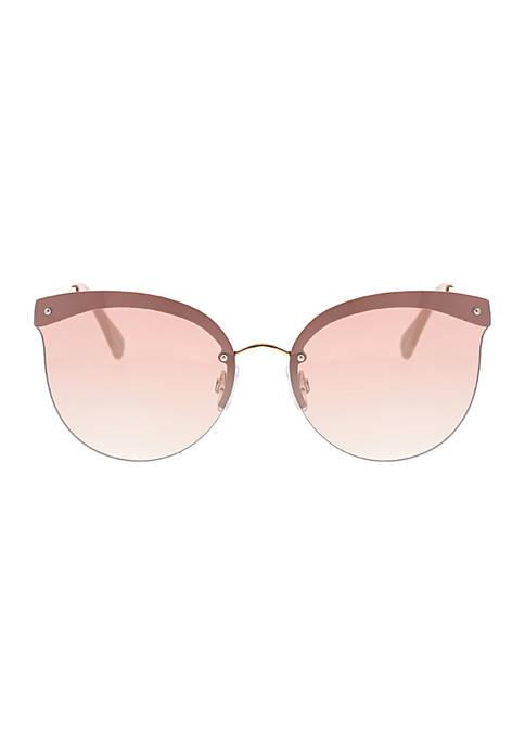 Fashion Metal Cat Eye Sunglasses