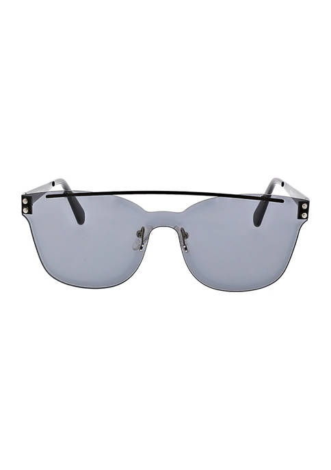 BCBG Brow Bar Shield Sunglasses