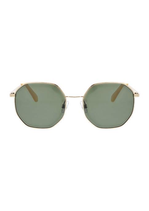 BCBG Geo Metal Sunglasses
