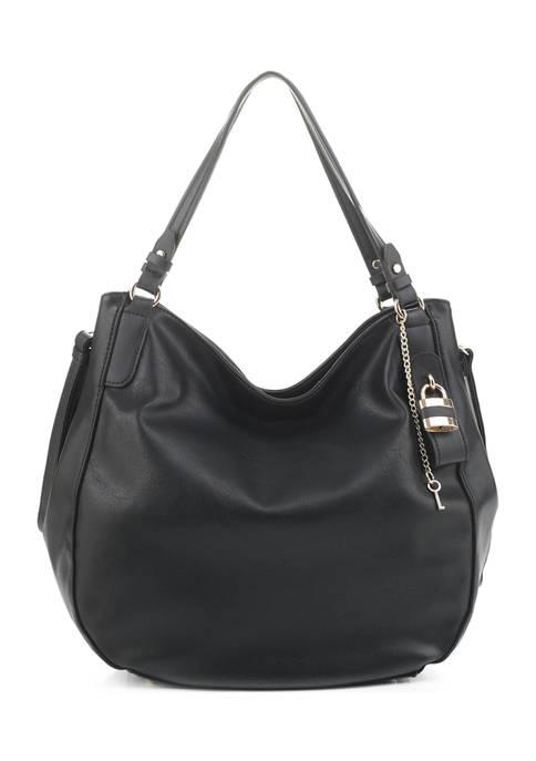 Mali + Lili Vegan Leather Hobo Bag