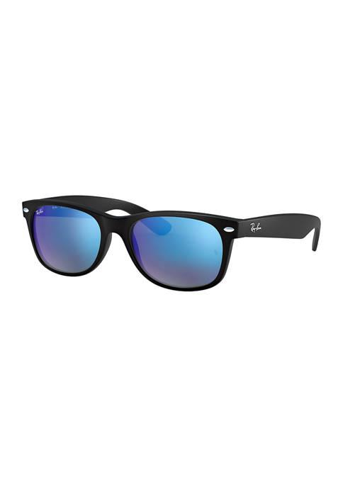 Ray-Ban® RB2132 New Wayfarer Flash Sunglasses