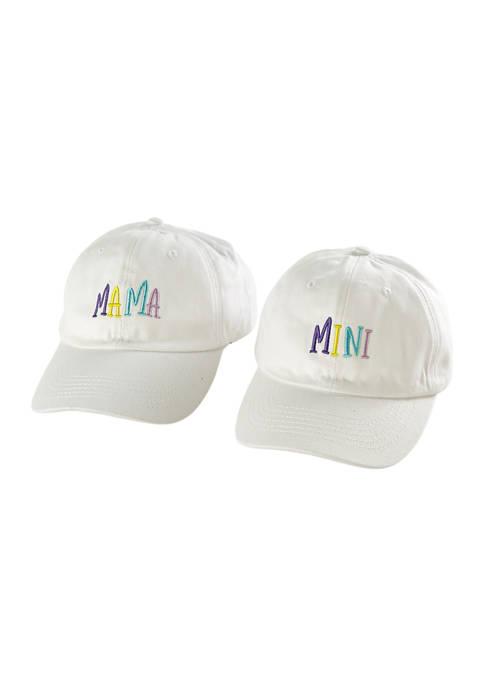 Marcus Adler Mama and Mini Matching Baseball Hat