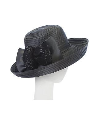 059cb061 F&M Hats Shimmer Taffeta with Lace Julia Hat | belk