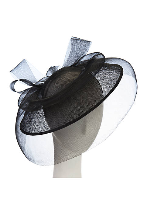 Fascinator Mesh And Bow