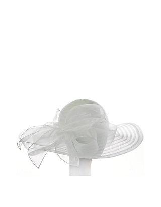 8f3998b8 F&M Hats Large Sheer Hat and Ribbon | belk