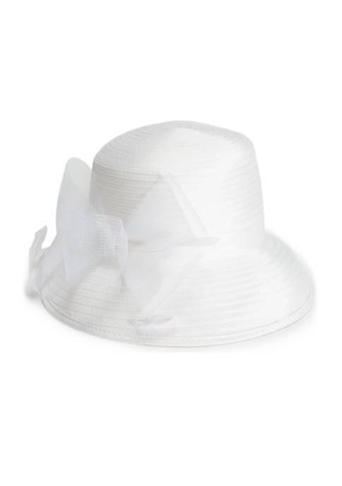 Asymmetric Bow Hat