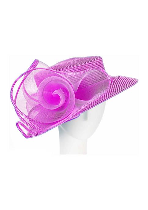 Matte Braid Queens Crown Dress Hat