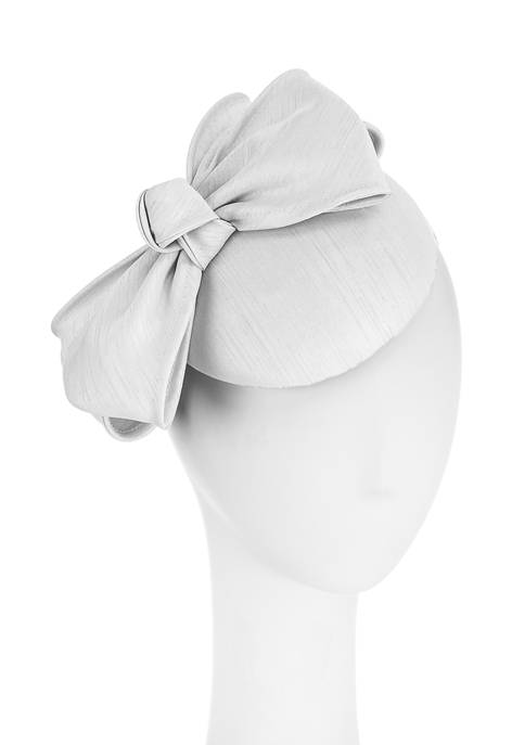 F&M Hats Shantung Bow Headband