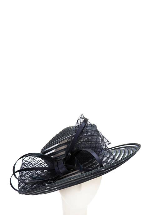 Double Crinoline Swirls Hat