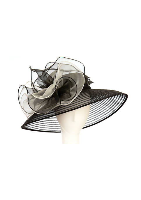 Queens Crown XL Lampshade Dress Hat