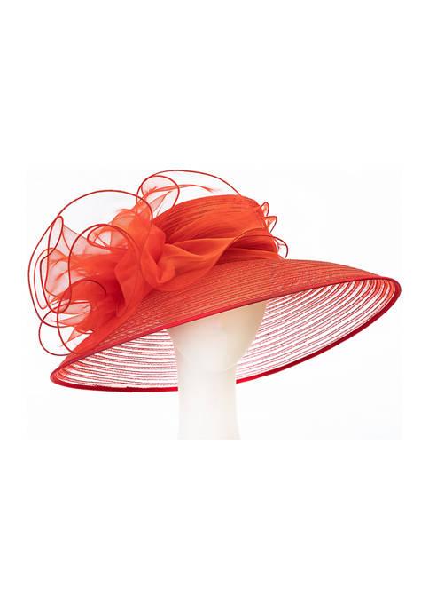 Giovannio Queens Crown XL Lampshade Dress Hat