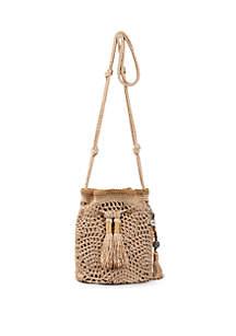 1a2a5f0bc ... The Sak Sayulita Crochet Drawstring Crossbody