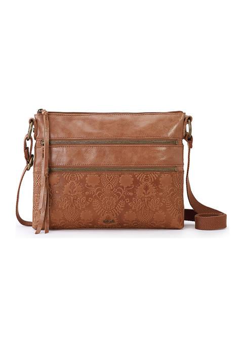 Reseda Leather Crossbody Bag