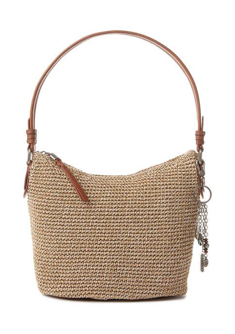 Small Sequoia Crochet Hobo Bag
