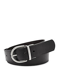 Fossil® Reversible Metal Keeper Belt