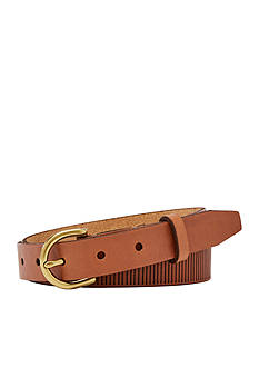 Fossil® Lasered Lines Belt