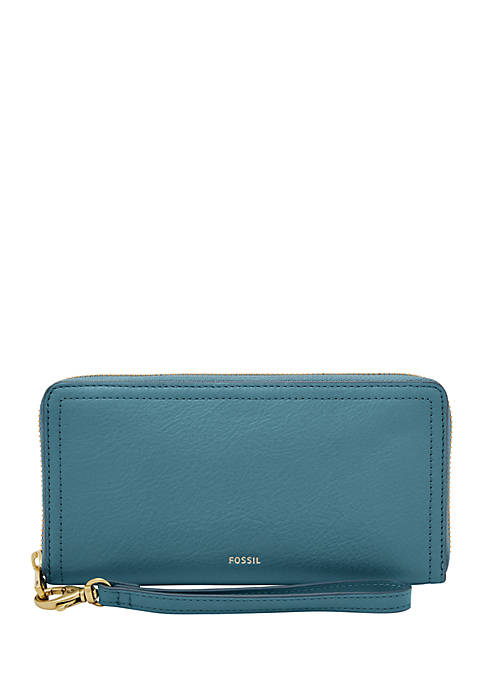 Fossil® Logan Zip Around Clutch
