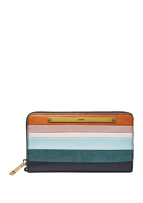 Fossil® Liza Zip Around Wallet