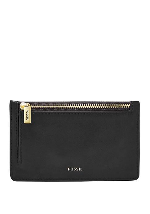 Fossil® Logan Zip Card Case
