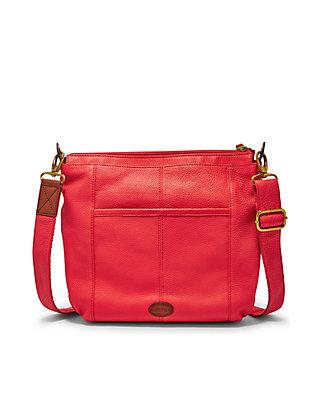 4a7ddf8fd5b ... Fossil® Morgan Traveler Leather Crossbody Bag ...