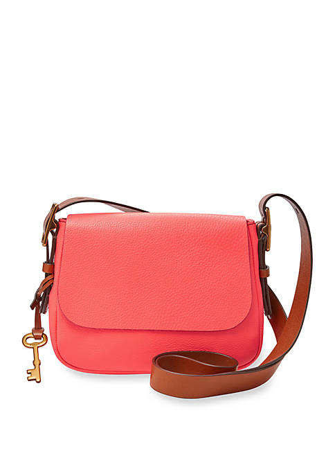 Fossil® Harper Small Saddle Crossbody Bag