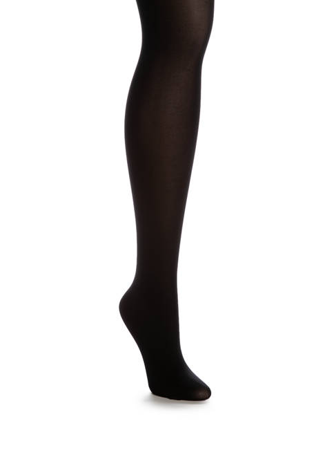 Lux Opaque Waist Smoothing Tights