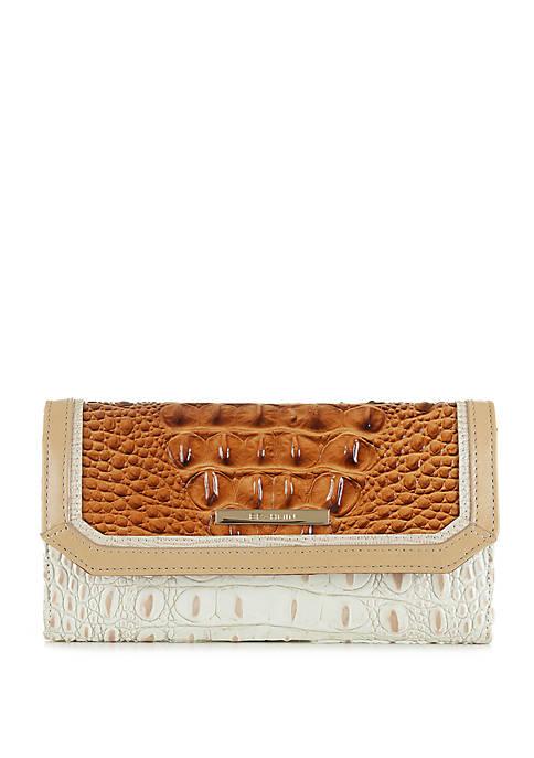 Brahmin Glenn Soft Checkbook Wallet
