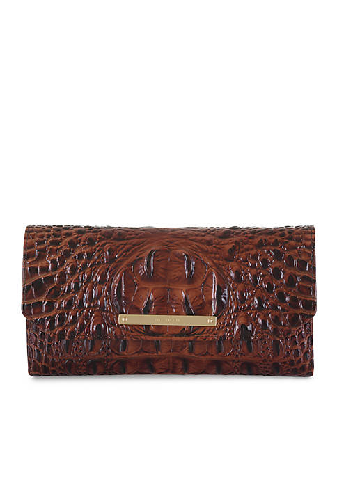 Brahmin Melbourne Collection Soft Checkbook Wallet