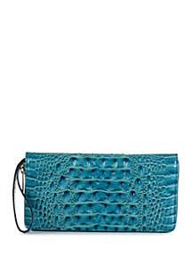 Brahmin Melbourne Collection Skyler Wristlet Wallet
