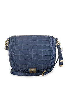 Brahmin Savannah Collection Sonny Saddle Bag