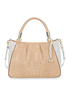 Brahmin Crandon Collection Ruby Satchel
