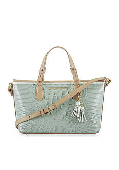 Brahmin Tricolor Collection Mini Asher Satchel Bag