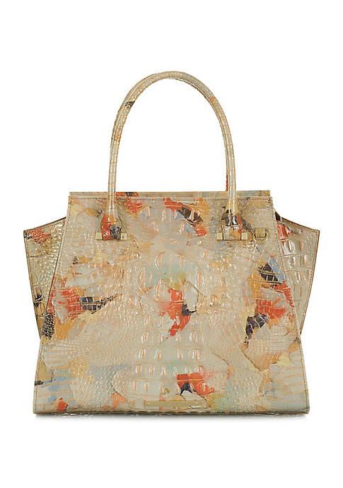 Brahmin Priscilla Satchel Melbourne Collection