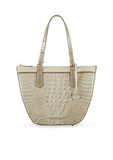 Brahmin Tri Texture Collection Small Willa Tote